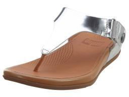 Fitflop Gladdie Toe-post Metallic Womens Style : A36