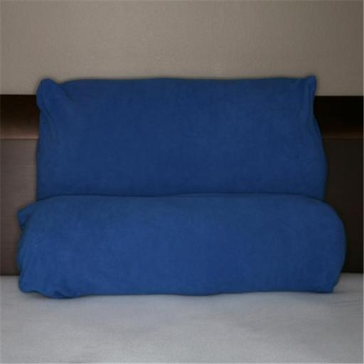 Living Health Products RBP-003-05B Multi Position Pillow Cover, Fiber Blue