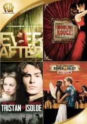 Ever after/moulin rouge/tristan & isolde/romeo & juliet (dvd/quad)-nla D2321784D