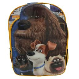 "The Secret Life of Pets ""City Pets"" 16-inch Kids School Backpack Bag - Blue"