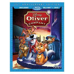 Oliver & company-25th anniversary edition (blu-ray/dvd) BR110404