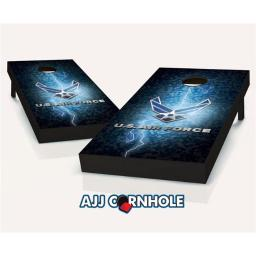 ajjcornhole-107-airforcelightning-us-air-force-lightning-theme-cornhole-set-with-bags-8-x-24-x-48-in-64f1efdd796ee781