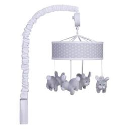 Trend-Lab 103020 Bunny Musical Mobile, Gray