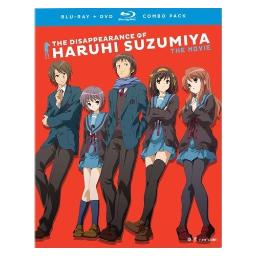 Disappearance of haruhi suzumiya-movie (blu-ray/dvd combo/3 disc) BRFN01773