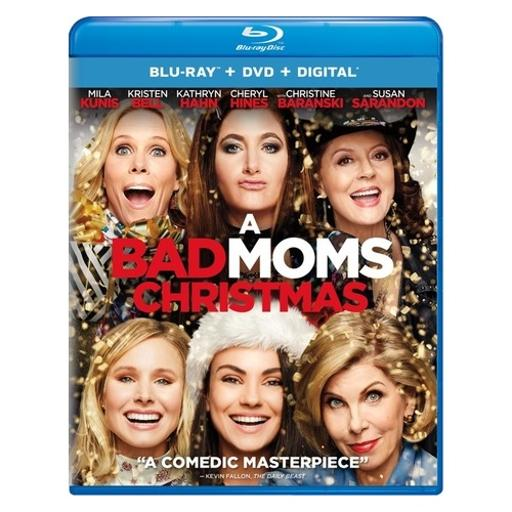 Bad moms christmas (blu ray/dvd w/digital) (2discs) NNLJ5BHFAFM0ZHSX