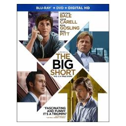 Big short (blu ray/dvd w/digital hd combo) BR59176427