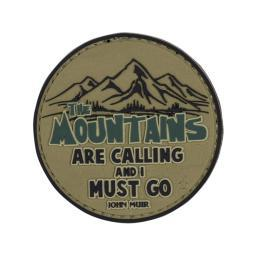 """5ive Star Gear Mountains Are Calling And I Must Go Pvc Morale Patch, 2.25"""""""