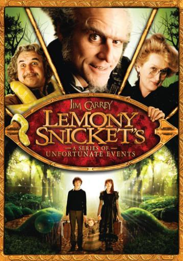 Lemony snickets-series of unfortunate events (dvd) 1286249