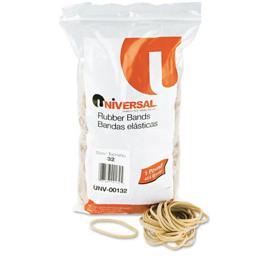 Universal 00132 Rubber Bands- Size 32- 3 x 1/8- 740 Bands/1lb Pack