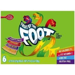 Betty Crocker Fruit by the Foot Rolls Fruit Flavored Snacks Variety Pack