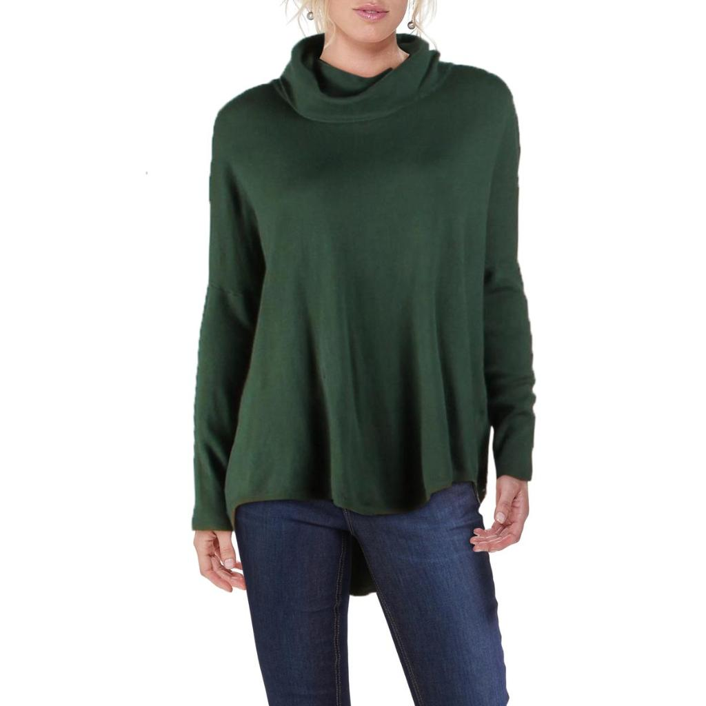 Cyrus Womens Roll Neck Knit Pullover Sweater