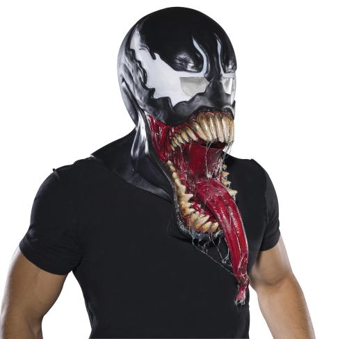 Rubie'S Costume Co Men'S Marvel Universe Deluxe Venom Latex Mask, Black, One Size USG1URYTHTYW23SF