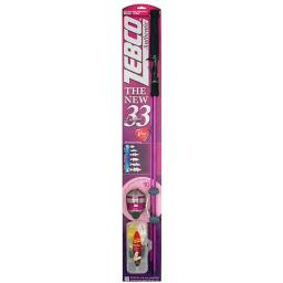 Zebco sales co. zeb-3490kl10cbp6 33 ladies spincast combo 21-10644