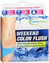Applied Nutrition Weekend Colon Flush - 16 Tablets, Pack Of 4