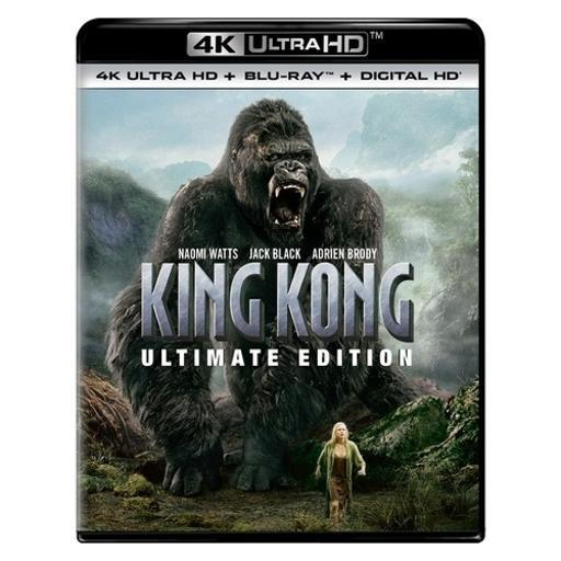 King kong-ultimate edition (blu ray/4kuhd/ultraviolet/digital hd) ZTW4NTLUHCOX2MXH