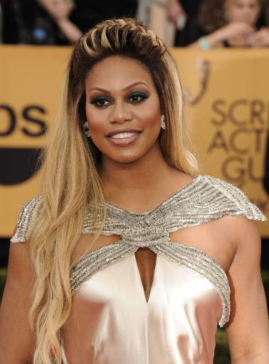 Laverne Cox At Arrivals For 21St Annual Screen Actors Guild Awards - Arrivals 1, The Shrine Exposition Center, Los Angeles, Ca January 25, 2015.