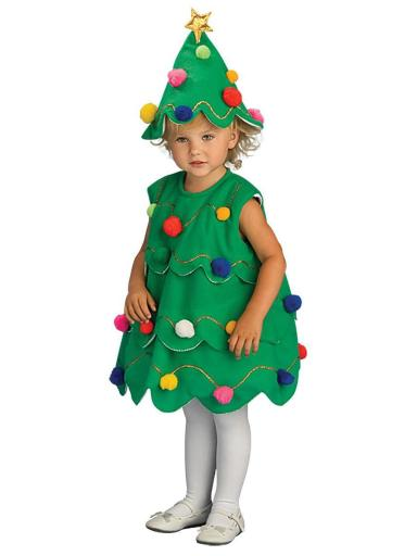 Toddler Little Christmas Tree Costume
