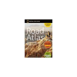 National geographic rd00620166 road atlas with adventure edition