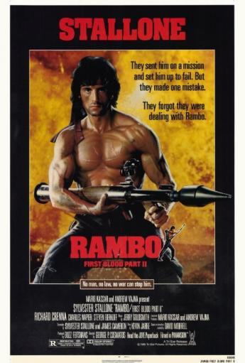 Rambo: First Blood, Part 2 Movie Poster Print (27 x 40) 401LR0EUJQ49ZZUV