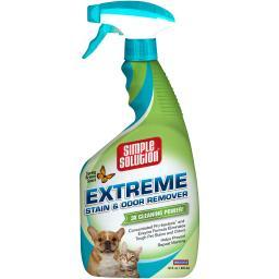 Simple Solution Extreme Stain & Odor Remover 32Oz-Spring Breeze 1342412P