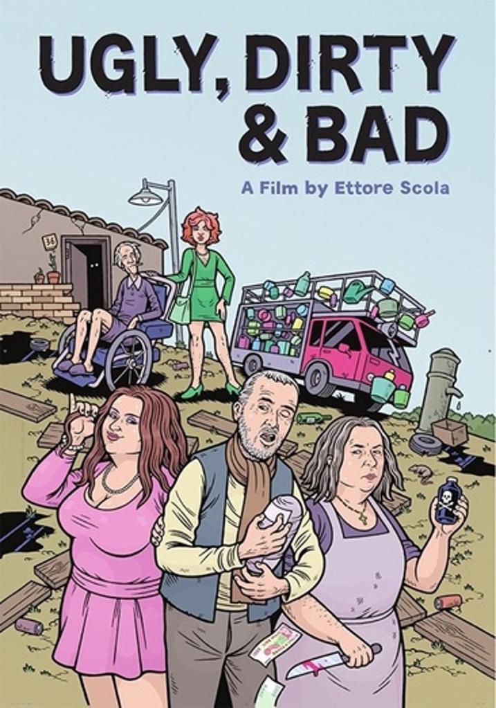 Film movement ugly dirty & bad (dvd) (italian w/eng sub) d200556d