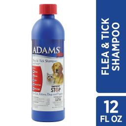 Adams plus 100503441 adams plus flea and tick shampoo with precor for cats and d