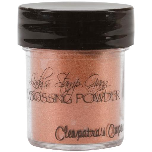 Lindy's Stamp Gang 2-Tone Embossing Powder .5oz-Cleopatra's Copper XW4IMTUGV9LPLT9F