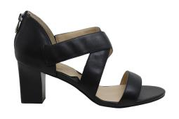 Adrienne Vittadini Womens rowsey Leather Peep Toe Casual Ankle Strap Sandals