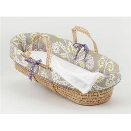 Cotton Tale PWB1 Periwinkle Moses Basket, Girl
