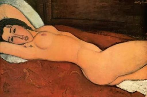 Reclining Nude Poster Print by Amedeo Modigliani X4ZSVADISEOJXYCN
