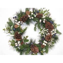 aa-floral-designs-abr6295-white-berry-pinecone-wreath-22-in-0du0wsw4wkdq08hr