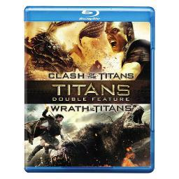 Clash of the titans 2010/wrath of the titans (blu-ray/2 disc) BR446412