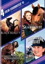 4 film favorites-classic horse films (dvd/2 disc) D117417D