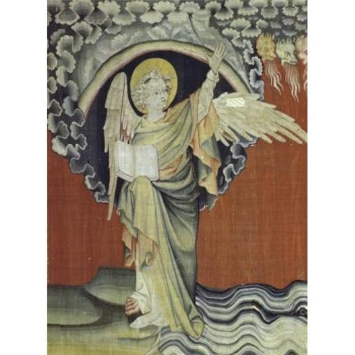 Posterazzi SAL9001133 Apocalypse - Angel Detail Tapestry & Textiles Poster Print - 18 x 24 in.