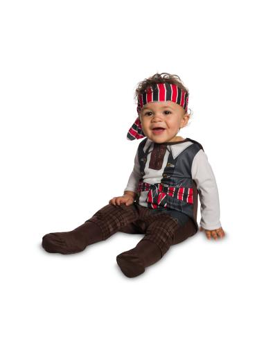 Baby/Toddler Tiny Pirate Costume 6 to 12 months, Toddler 2T-4T