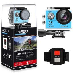 Akaso EK7000BL 4K Wi-Fi sports Action Camera, Blue