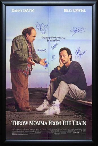 Throw Momma from the Train - Signed Movie Poster L2RNC7B7YPBVKTGB