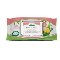 Aleva naturals 37945 bamboo sensitive wipes 72ct