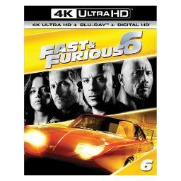 Fast & furious 6 (blu ray/4kuhd/ultraviolet/digital hd) (2discs) BR61184885