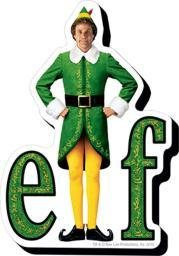 Elf Logo Funky Chunky Magnet Elf Movie Christmas Holidays