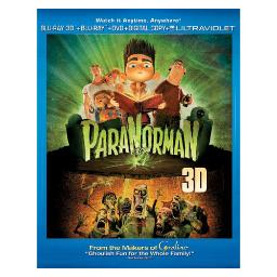 Paranorman blu ray/dvd/3d w/digital copy (3-d) BR62123587