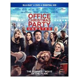 Office christmas party (blu ray/dvd combo) (rated & unrated) BR59183735