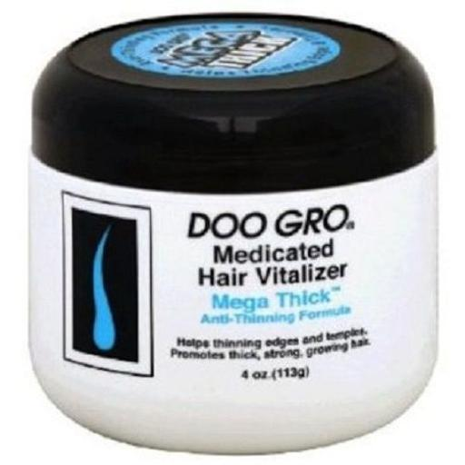 Doo Gro Medicated Hair Vitalizer Mega Thick Anti-Thinning Formula WXYOHKHU2OBF5YPK