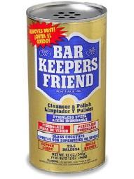 Bar Keeper's Friend Cleanser & Polish 12 oz Canister