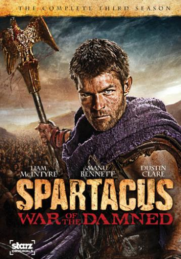 Spartacus-war of the damned (dvd/3 disc) ZTZ08NOVOFDLLWQF