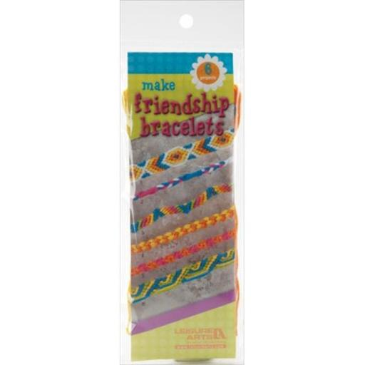 150033 Make Friendship Bracelets Kit-Makes 6