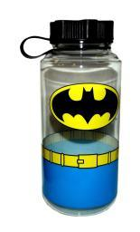 Batman Uniform 1 Liter Plastic Water Bottle DC Comics Logo Lunch Wide Mouth