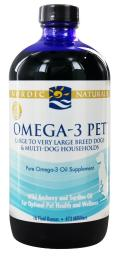 Nordic Naturals - Omega-3 Pet For Large & Very Large Breed Dogs & Multi-Dog Households - 16 fl. oz.