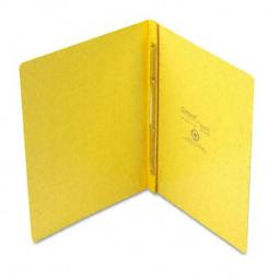 Oxford 12709 PressGuard Report Cover- Prong Clip- Letter- 3'' Capacity- Yellow