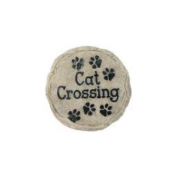 Spoontiques 13340 9 stepping stone  cat crossing